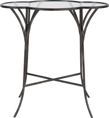 Tomotley Black Accent Table