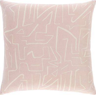 Toria Pink Accent Pillow