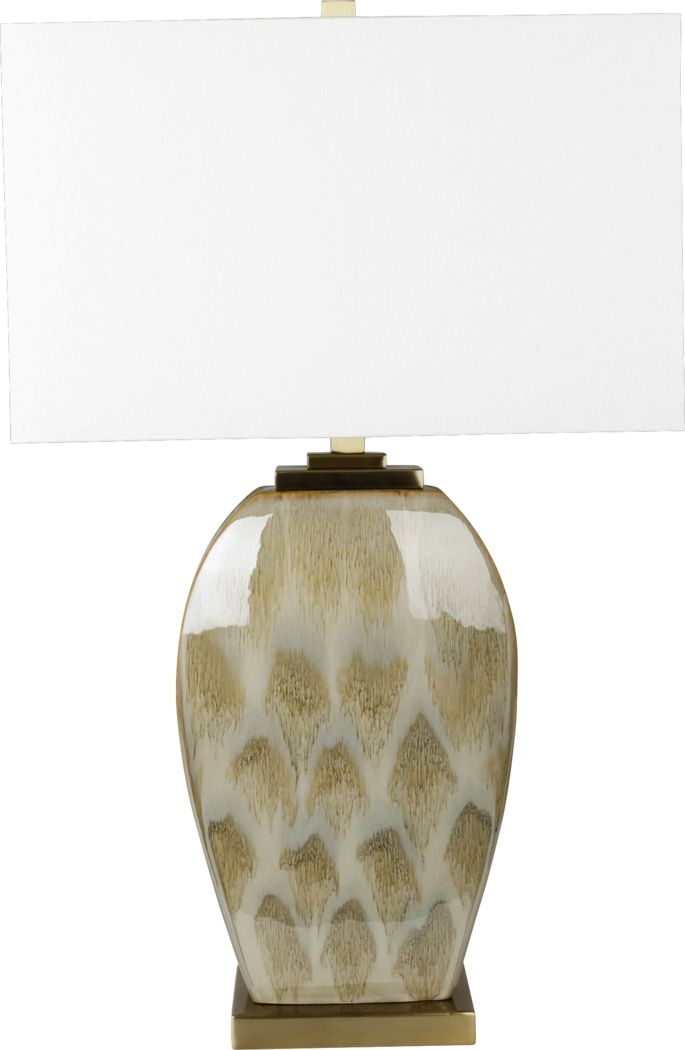 Tortoise Town Brown Lamp