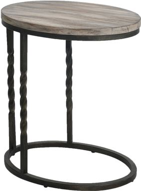 Tortosa Brown End Table