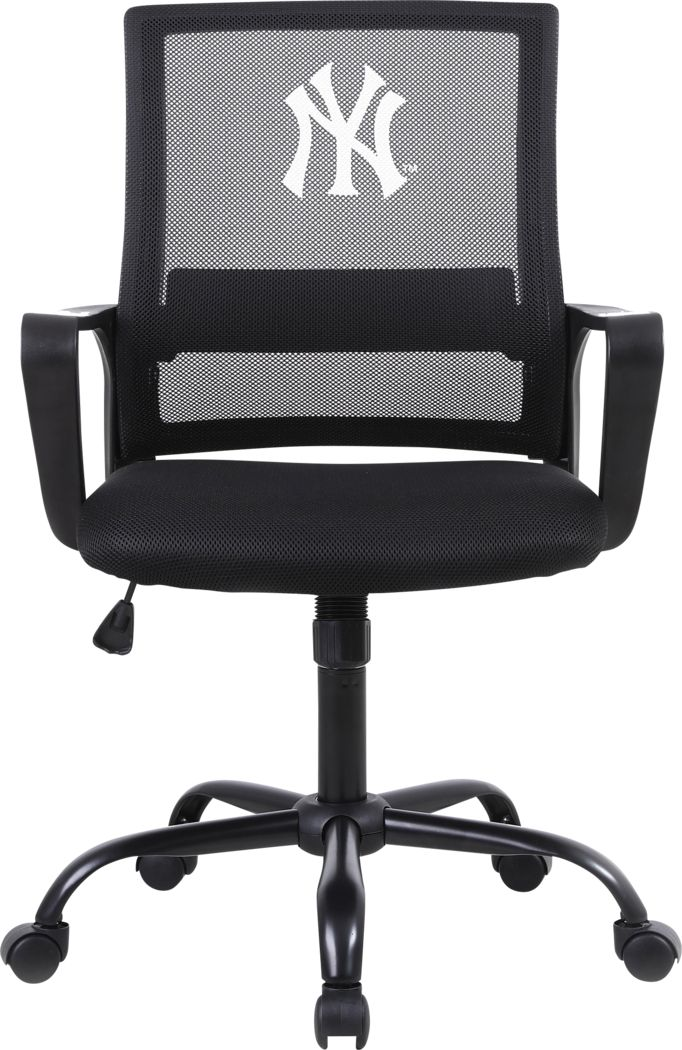 Tough Match MBL New York Yankees Black Desk Chair