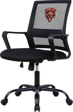 Tough Match NFL Chicago Bears Black Desk Chair