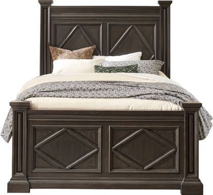 Trail Woods Black 3 Pc King Bed