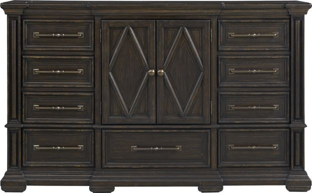Trail Woods Black Dresser