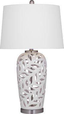 Trailside Court White Lamp