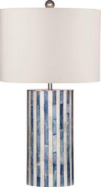 Trailside Drive Blue Lamp