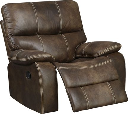 Tralee Brown Swivel Glider Recliner