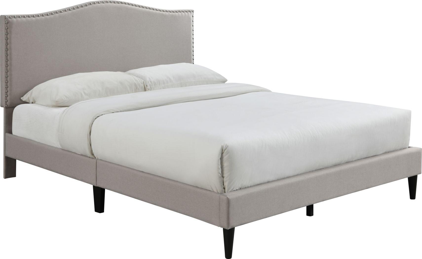 Trapon Beige Queen Bed