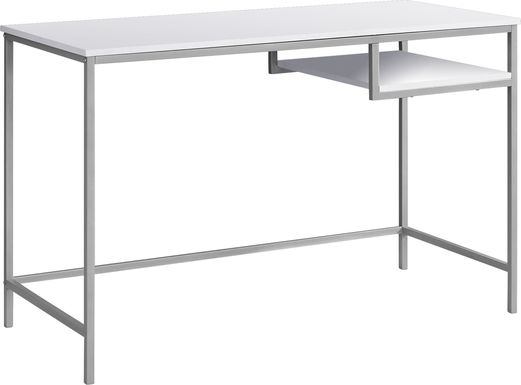 Trawood White Desk