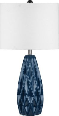 Treille Navy Lamp