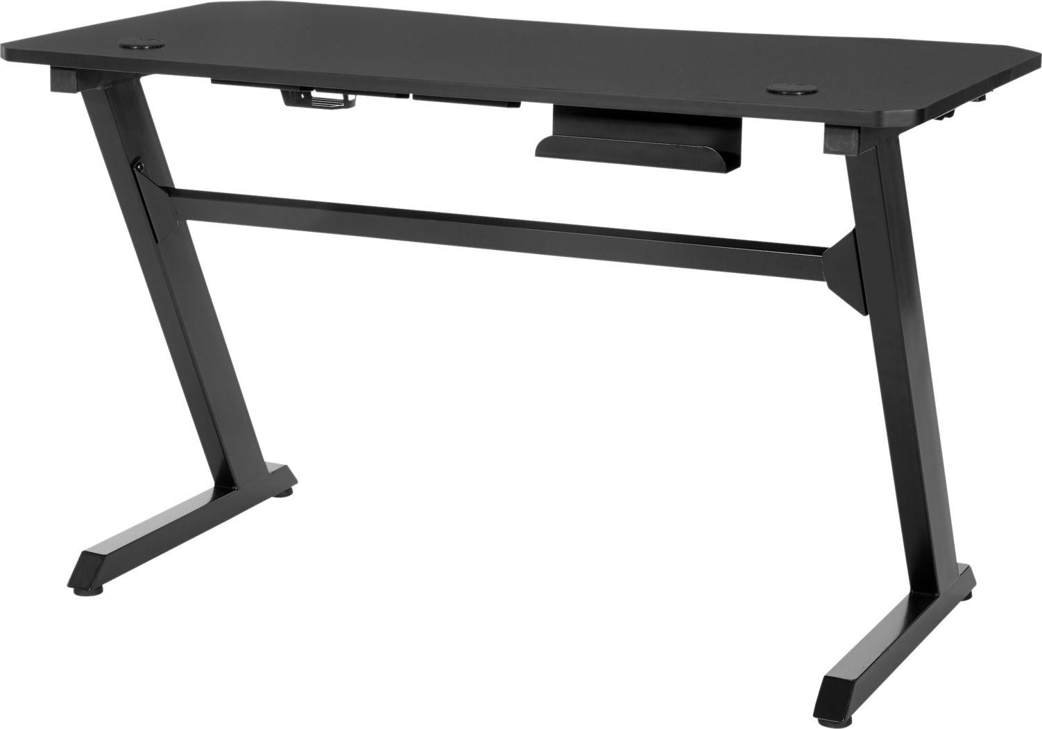 Treye Black Gaming Desk