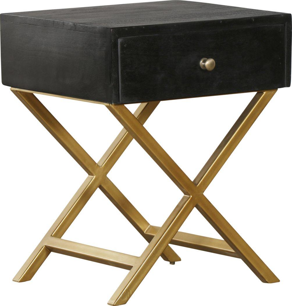 Treyford Black End Table