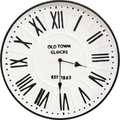 Tristana White Clock
