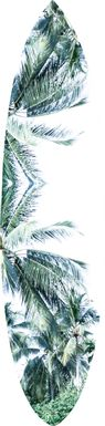 Tropical Delight Green Wall Decor