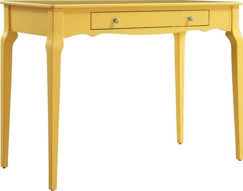 Tullia Yellow Desk