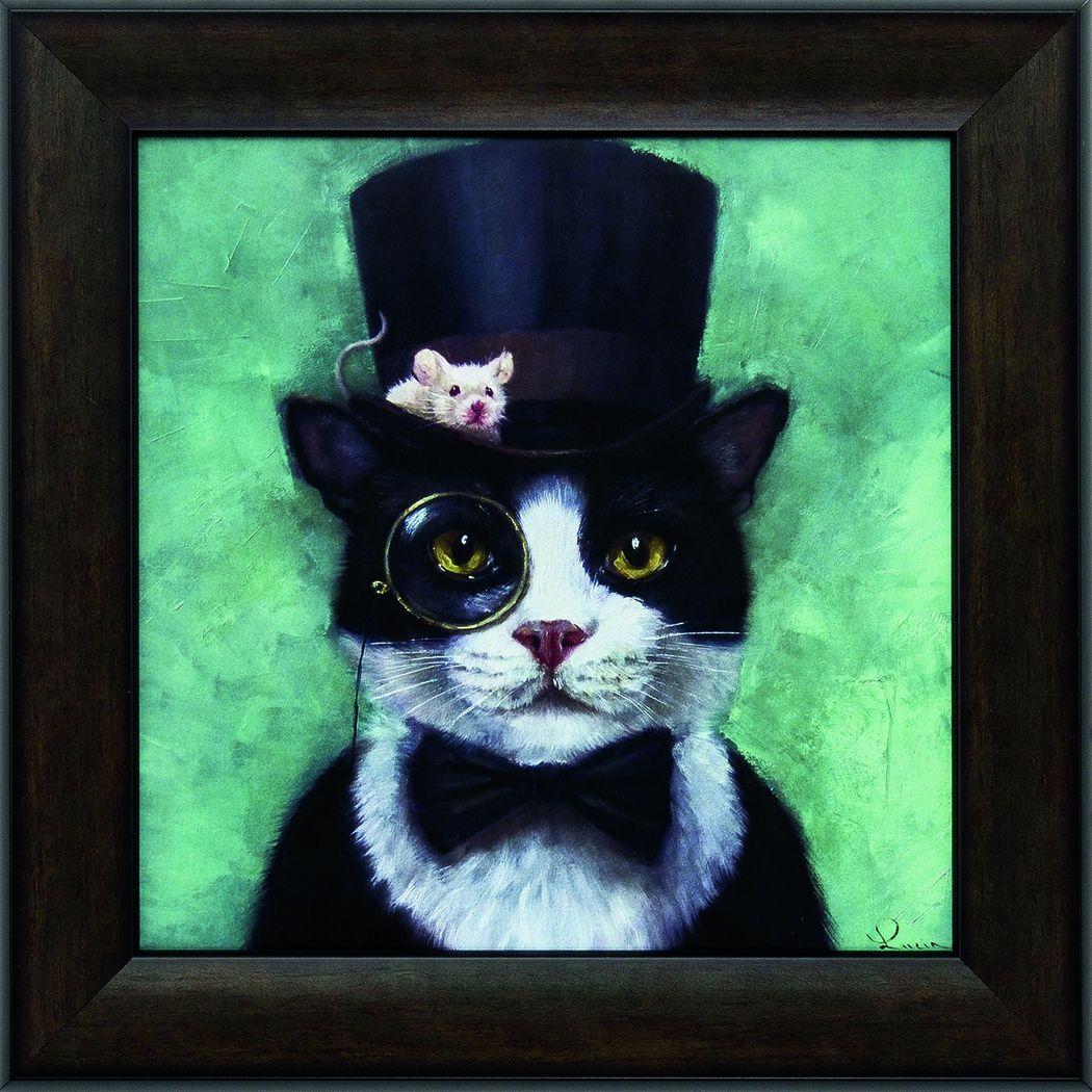 Kids Tuxedo Cat Artwork