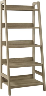 Tybalt Gray Bookcase