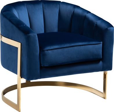 Tynewood Blue Accent Chair