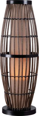 Unaka Brown Outdoor Table Lamp