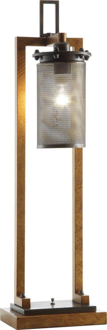 Upton Park Copper Lamp