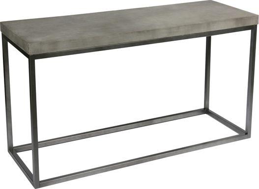 Urbandale Court  Gray Sofa Table