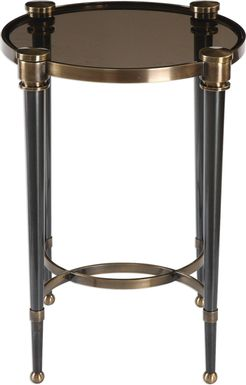 Valdena Brass Accent Table