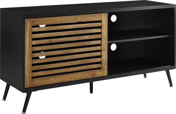 Valinda Black 52 in. Console
