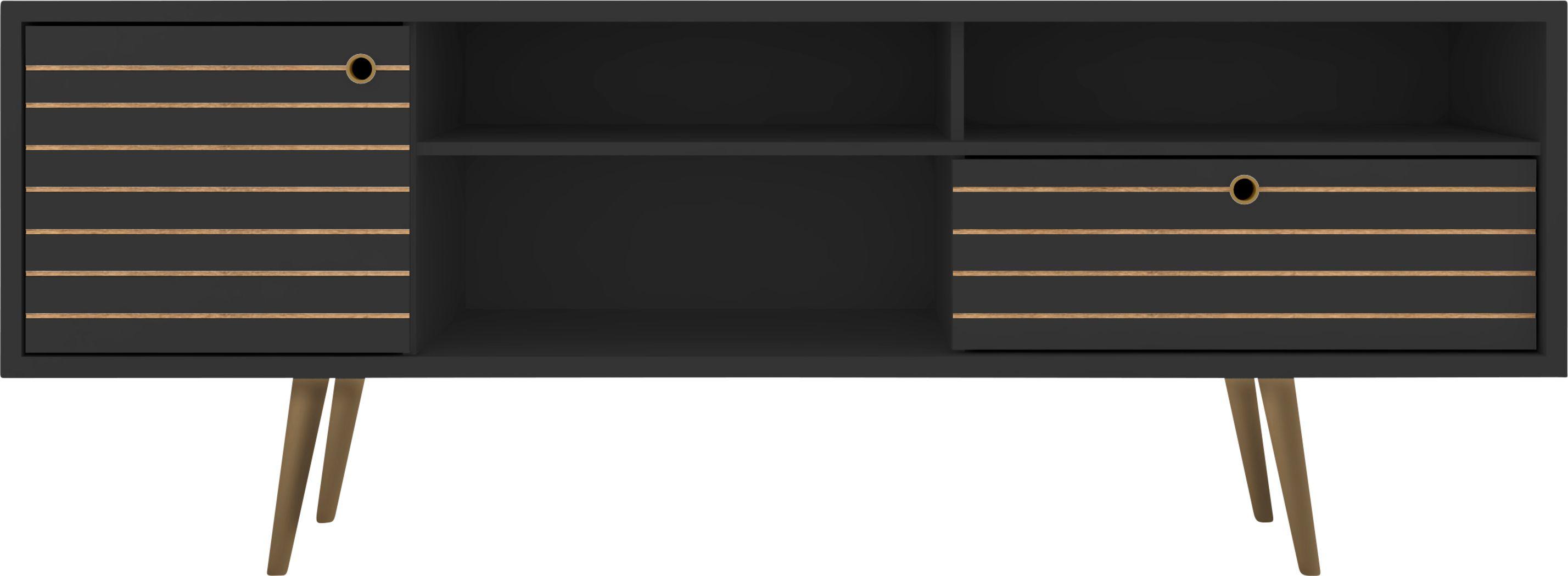 Vallar Black 71 In. Console