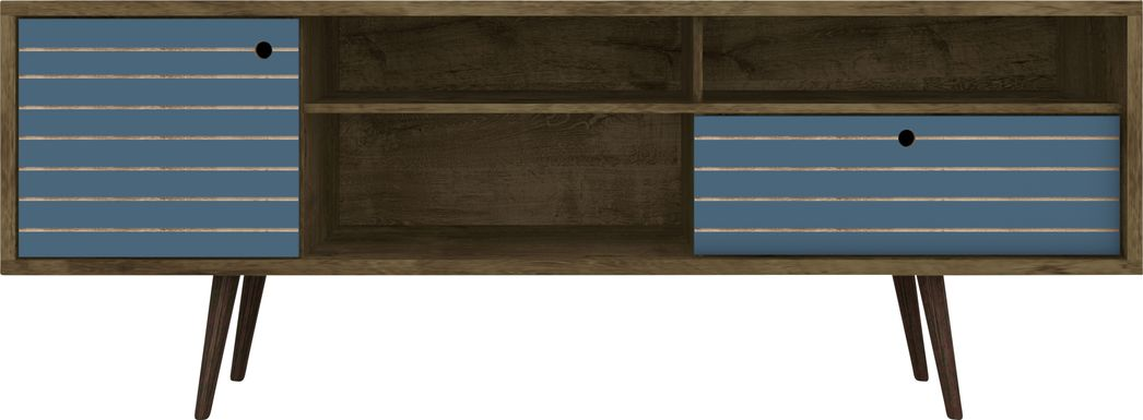 Vallar Brown/Blue 71 In. Console