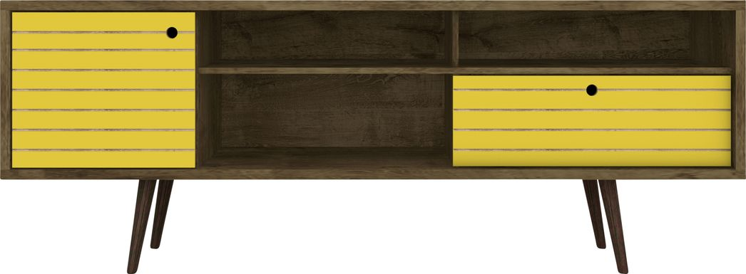 Vallar Brown/Yellow 71 In. Console