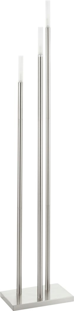 Vallette Silver Floor Lamp