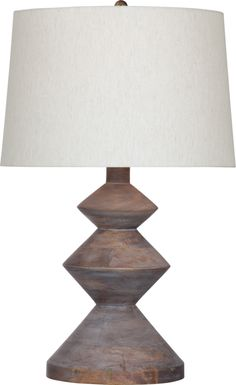 Valley Court Gray Lamp