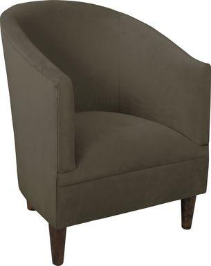 Vallie Pewter Chair