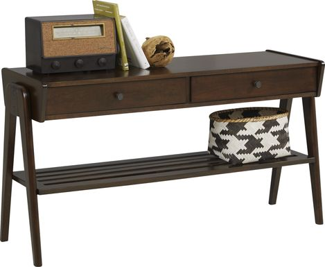 Valloria Brown Sofa Table
