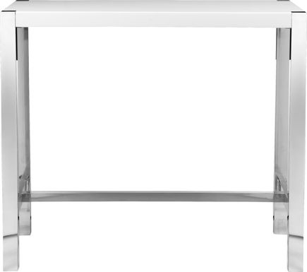 Valmarie White Bar Height Dining Table