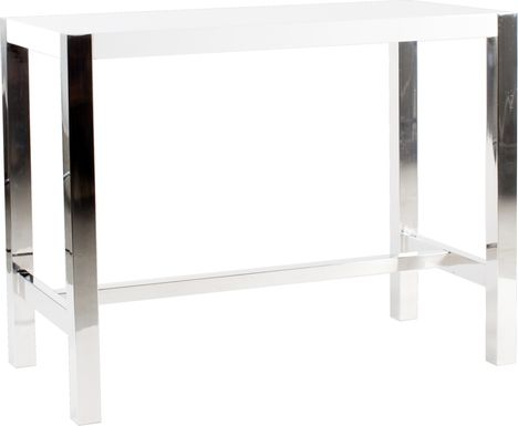 Valmarie White Counter Height Dining Table