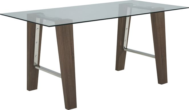 Valmont Brown Counter Height Dining Table