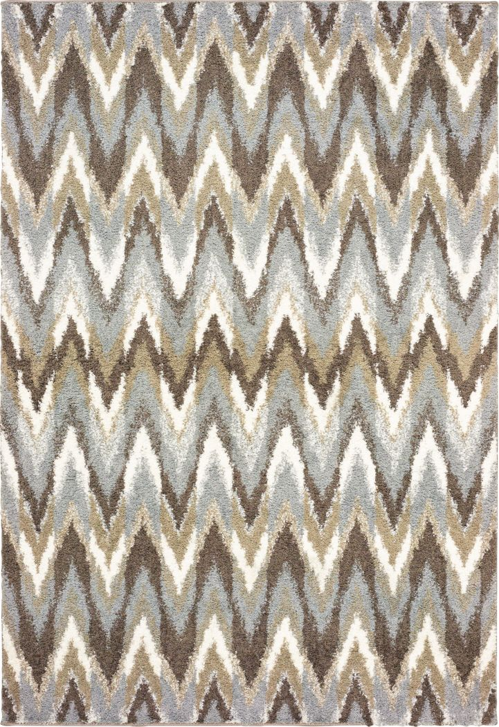 Vanderbaker Gray 5'3 x 7'6 Rug