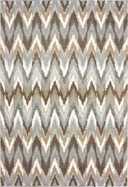 Vanderbaker Gray 6'7 x 9'6 Rug