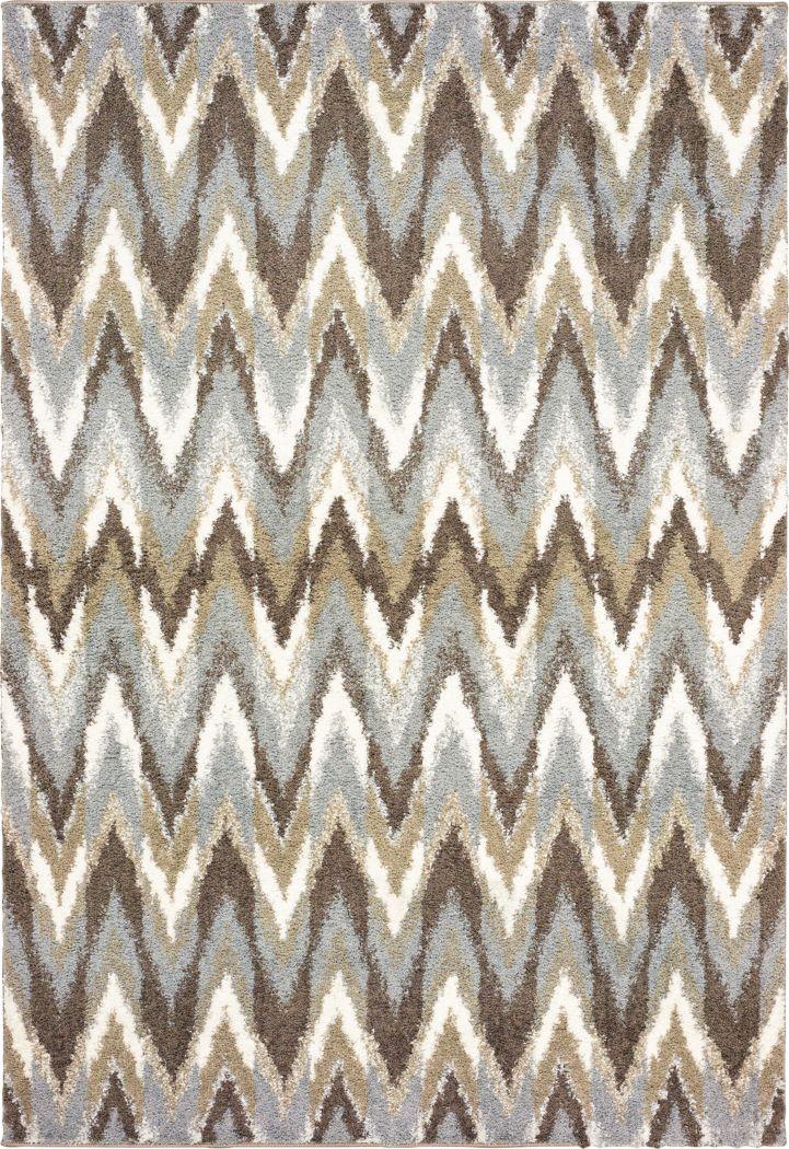 Vanderbaker Gray 7'10 x 10'10 Rug
