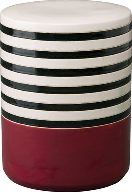 Vannstone Burgundy Outdoor Stool