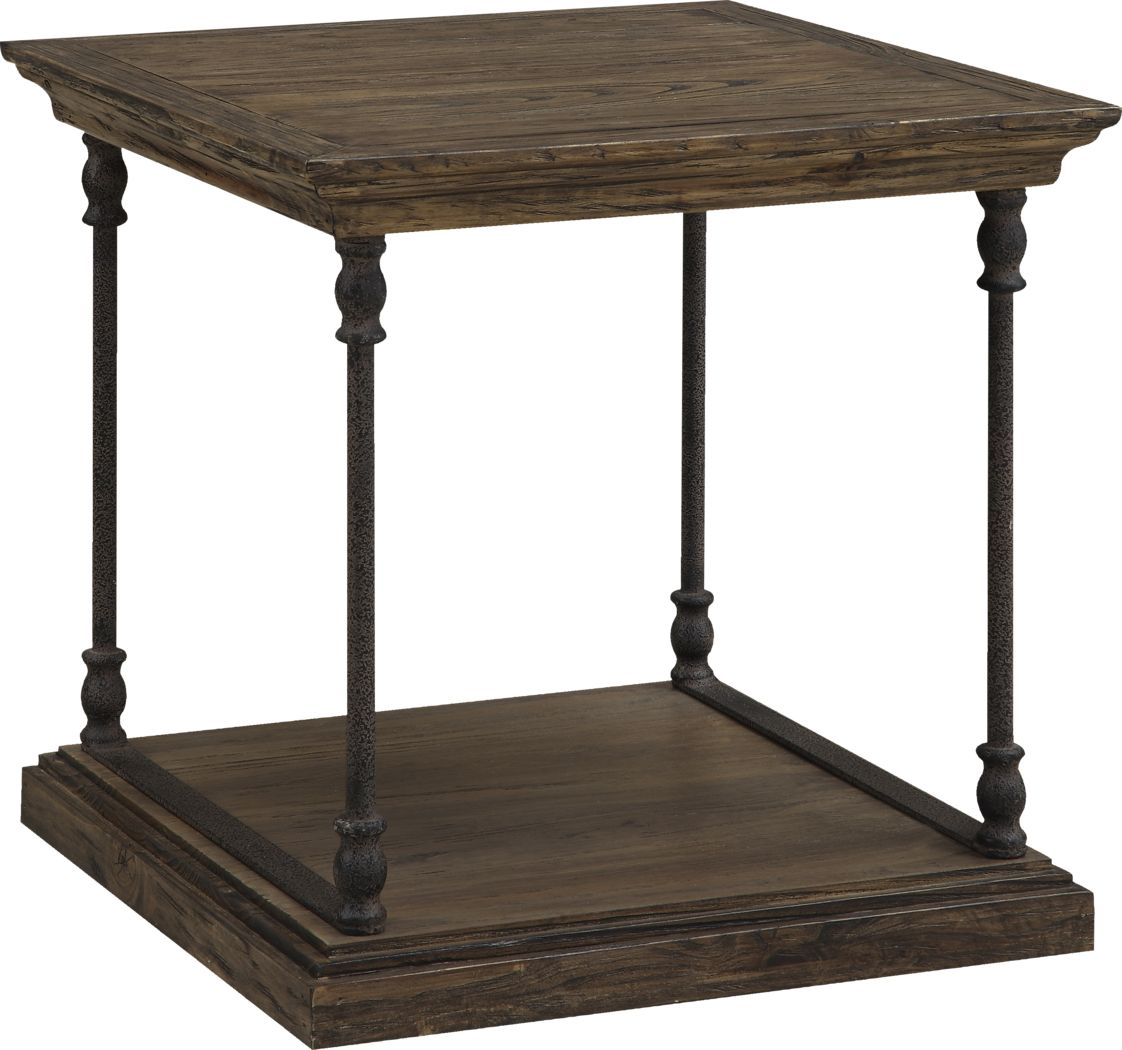 Vanosdale Brown End Table