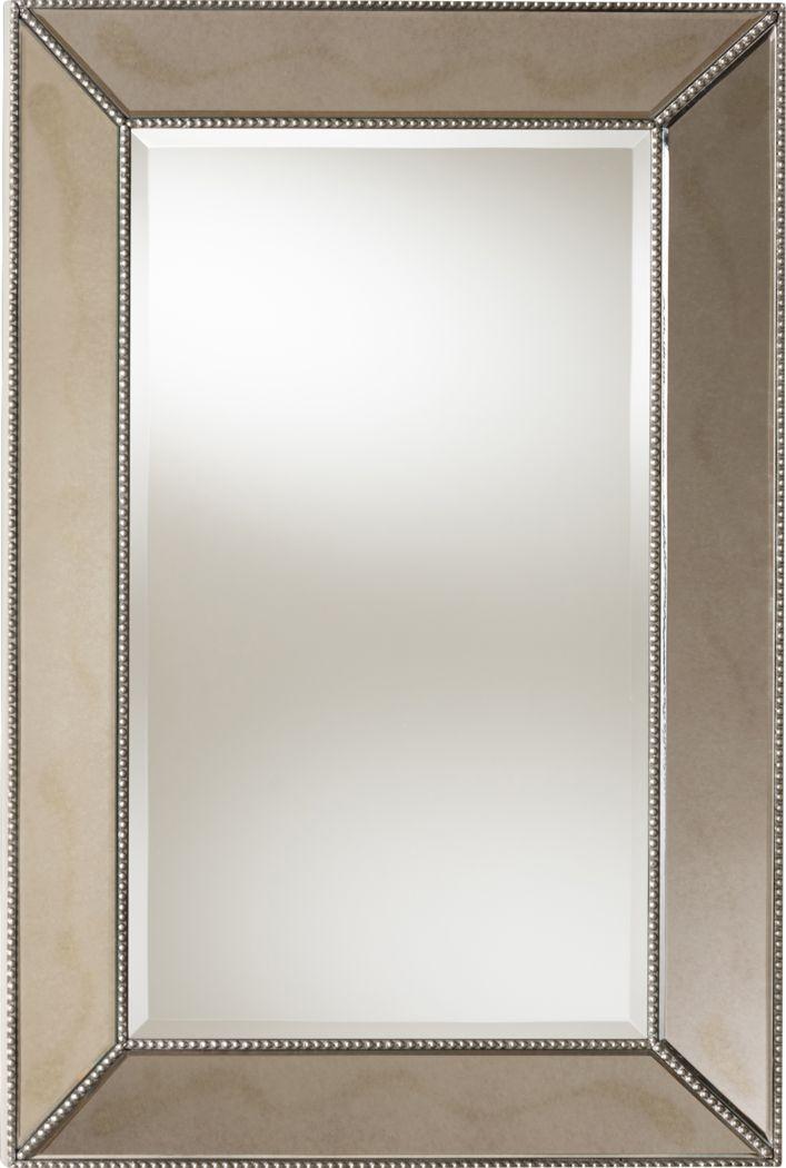 Vasilla Silver Mirror