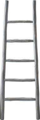 Vawter Gray Decorative Ladder
