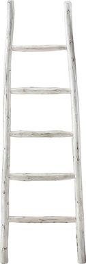 Vawter White Decorative Ladder