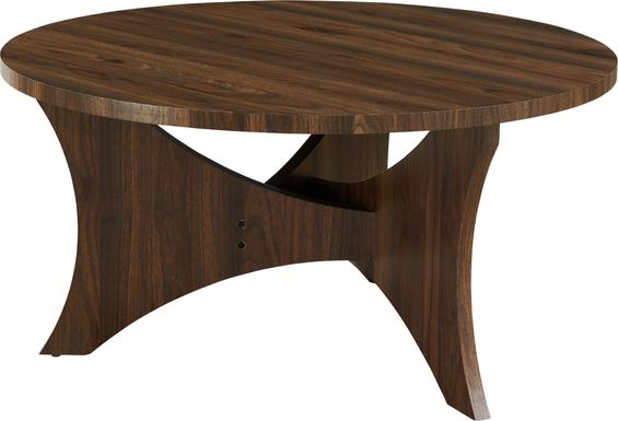 Velina Walnut Cocktail Table