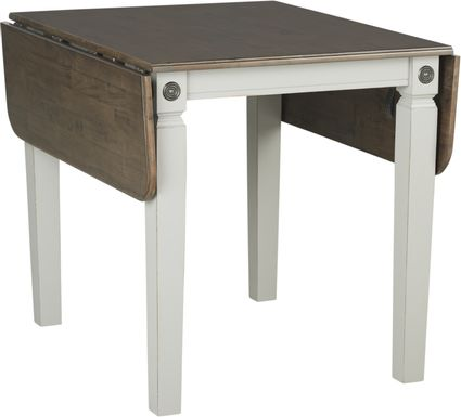 Velino Gray Rectangle Dining Table