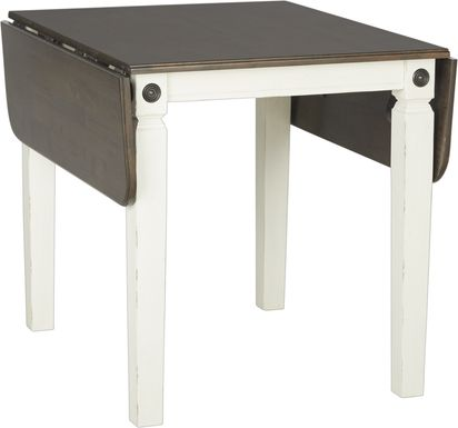 Velino White Rectangle Dining Table