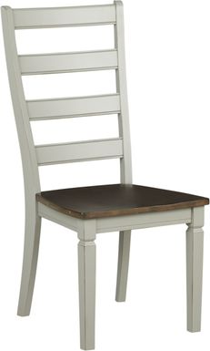 Velino White Side Chair