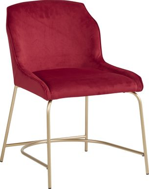 Venetian Court Red Side Chair